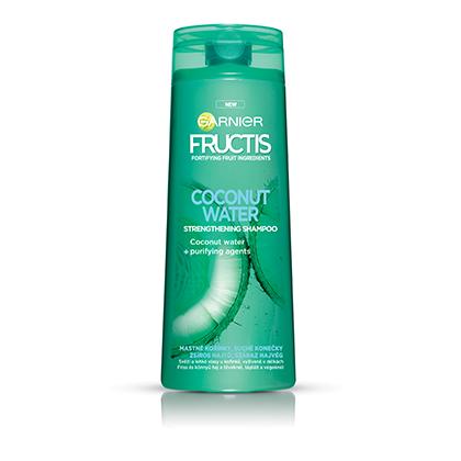 Garnier Fructis Coconut water posilující šampon 250 ml