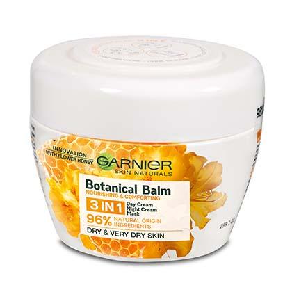 Garnier Botanical Balm 3v1 pleťový balzám s výtažkem z medu a včelího vosku 150 ml