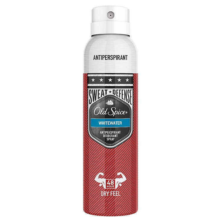 Old Spice antiperspirant sprej White Water 150 ml