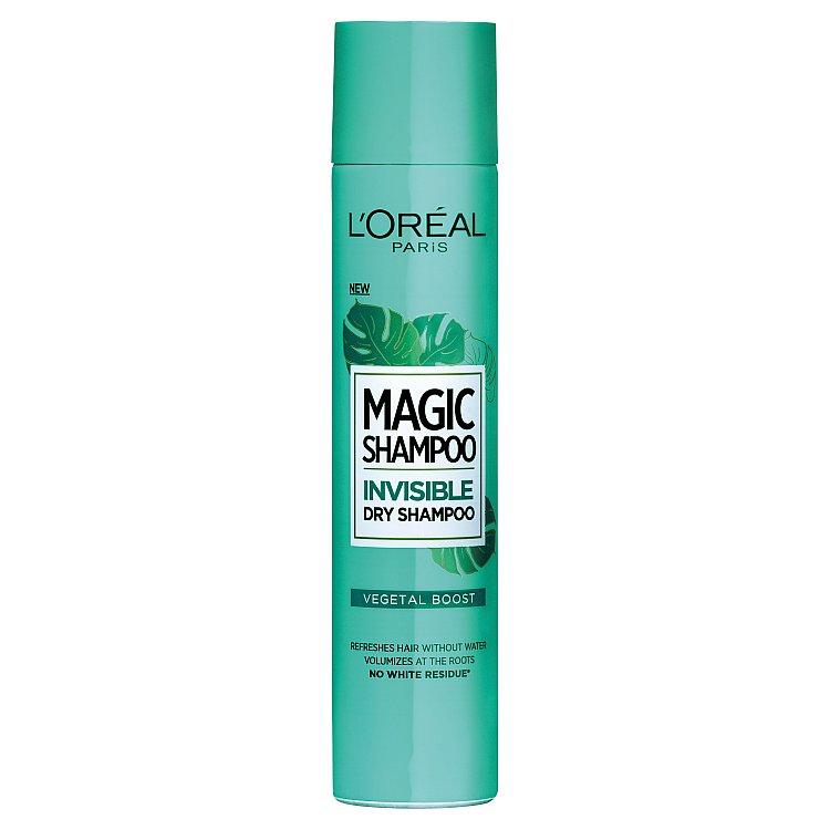 L´Oréal Paris Magic Shampoo Vegetal Boost suchý šampon pro objem vlasů 200 ml