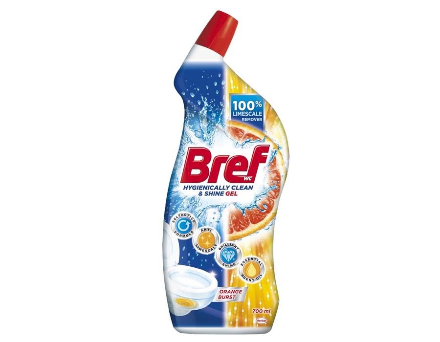 Bref Hygiene WC gel pomeranč 700 ml