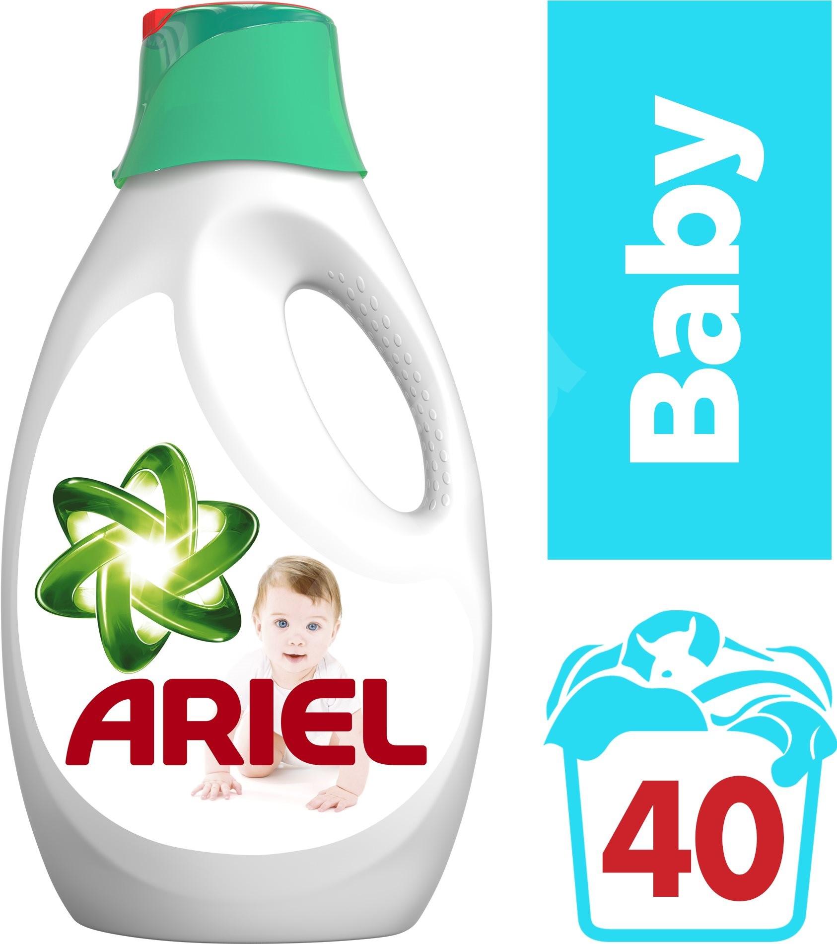 Ariel gel Baby, 40 praní 2,2 l