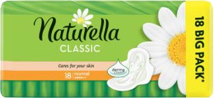Naturella Classic Normal hygienické vložky 18 ks