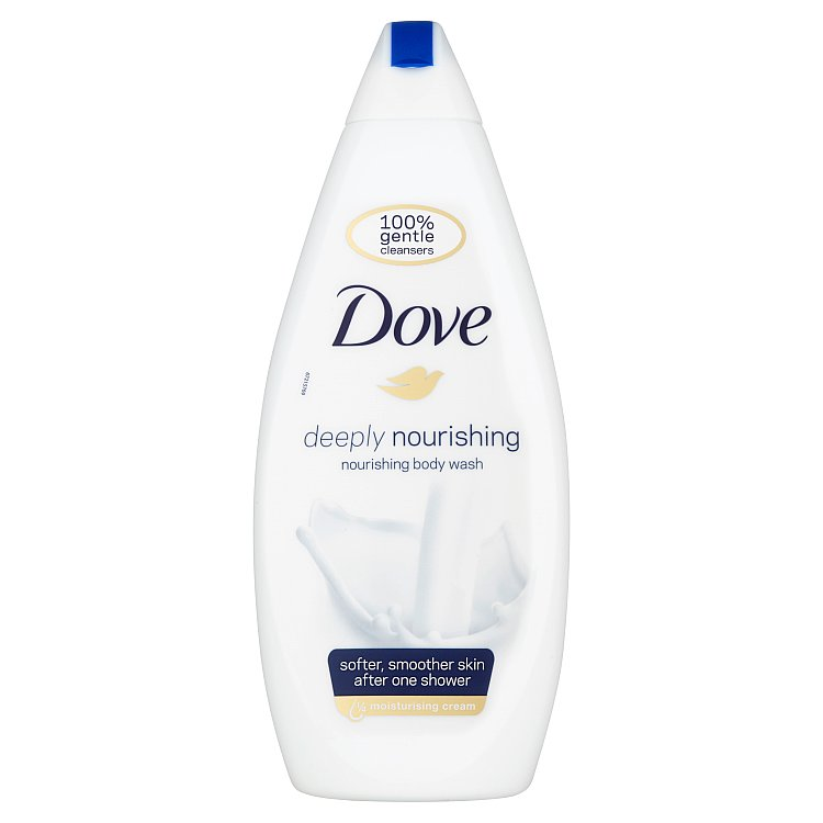 Dove Deeply Nourishing sprchový gel 750 ml