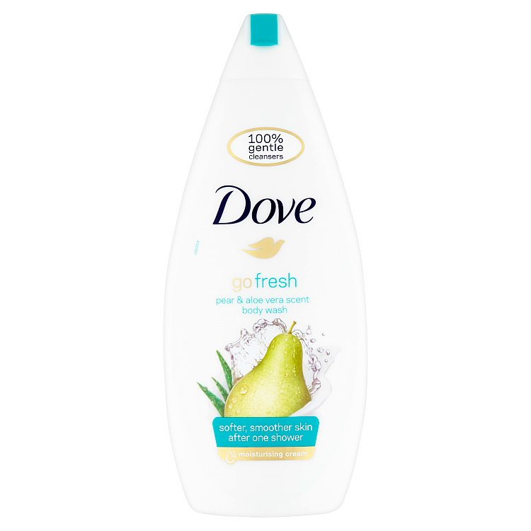 Dove Go Fresh sprchový gel hruška a aloe vera 750 ml
