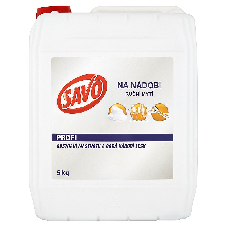 SAVO přípravek na nádobí 5 kg