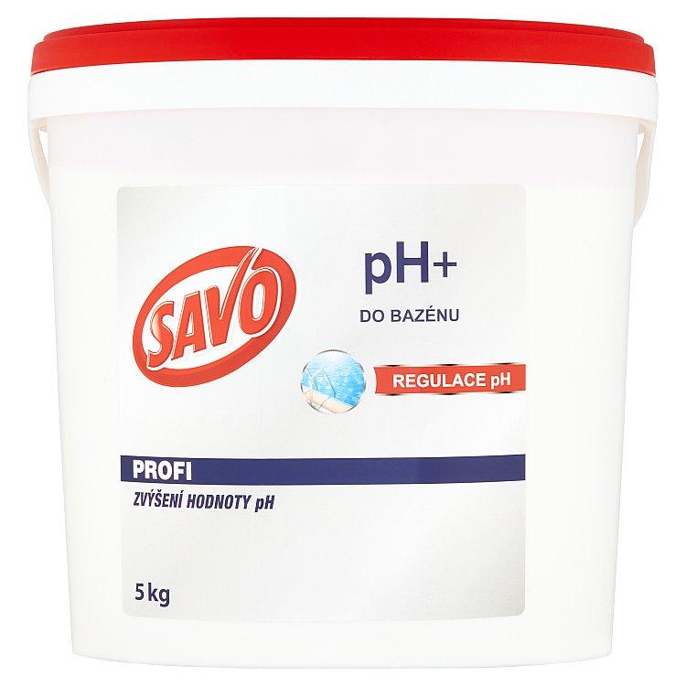 SAVO do bazénu pH+ zvýšení hodnoty pH 5 kg
