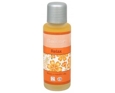 Fotografie Bio tělový a masážní olej - Relax 250 ml