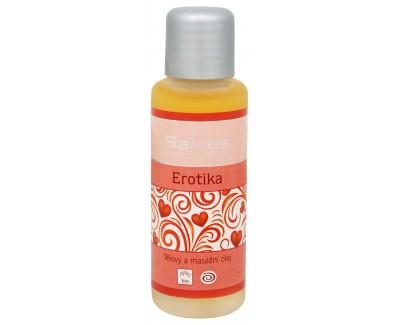 Bio tělový a masážní olej - Erotika 500 ml
