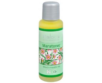 Fotografie Bio tělový a masážní olej - Maratonec 250 ml
