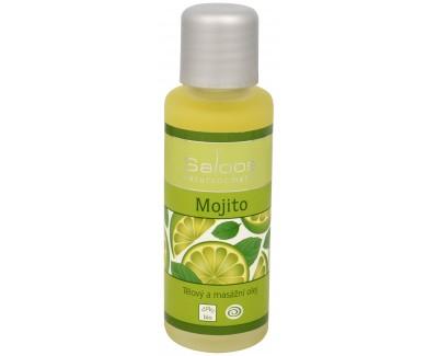 Fotografie Bio tělový a masážní olej - Mojito 250 ml
