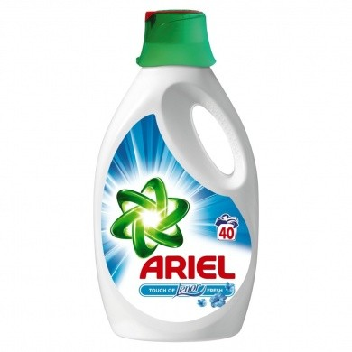 Ariel Touch of Lenor prací gel, 40 praní 2,2 l