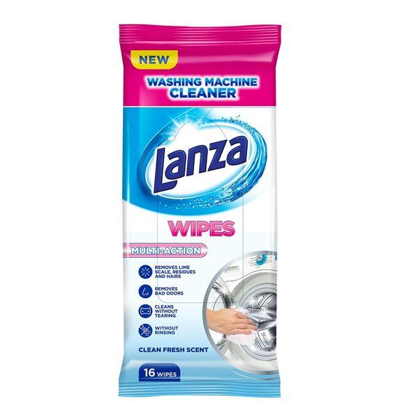 Lanza ubrousky na čistění pračky 16 ks