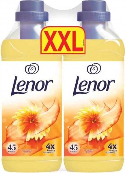 Lenor aviváž Summer Breeze duopack 2x 45 praní 2x 1360 ml