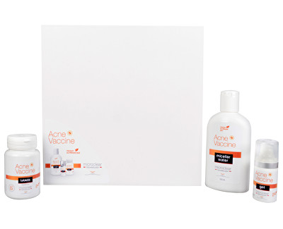 Acne Vaccine set (Acne Vaccine tablets +Acne Vaccine gel + Acne Vaccine water ZDARMA)