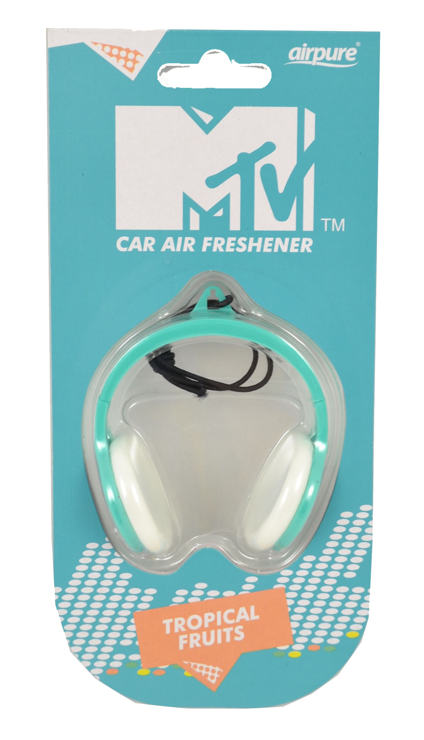 Fotografie Airpure MTV osvěžovač vzduchu do auta Tropical Fruits