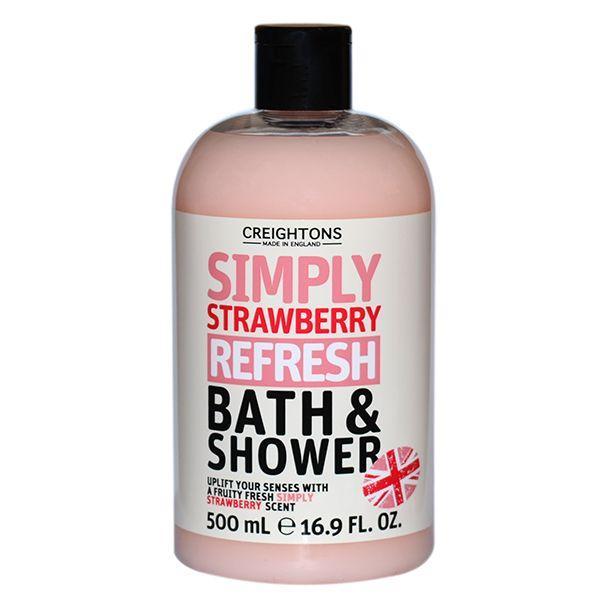 Creightons sprchový gel a pěna do koupele jahoda 500 ml