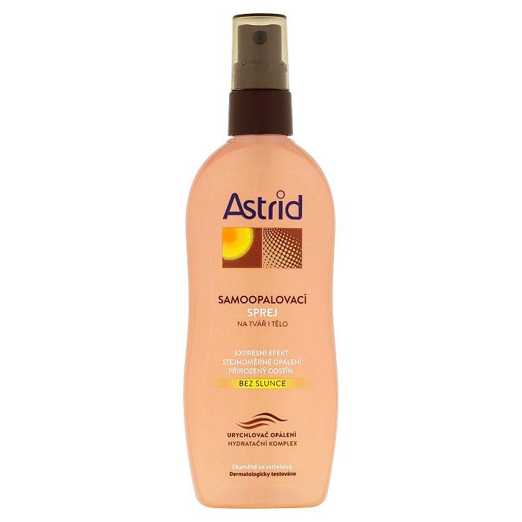 Astrid samoopalovací sprej na tvář a tělo 150 ml