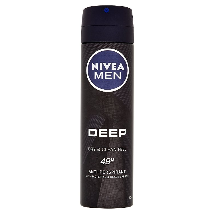 Nivea Men Deep antiperspirant ve spreji 150 ml