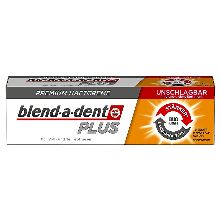 Blend-a-dent PLUS Dual Power fixační krém na zubní náhradu 40 g Blend-a-dent