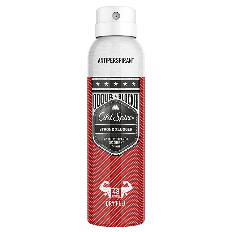 Old Spice Strong Slugger antiperspirant sprej 150 ml