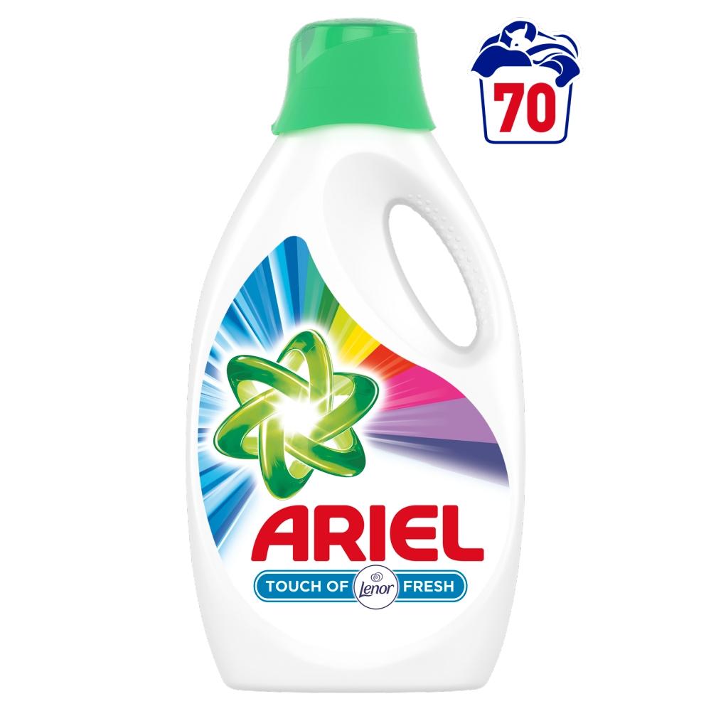 Ariel prací gel Touch Of Lenor Fresh, 70 praní 3,85 l