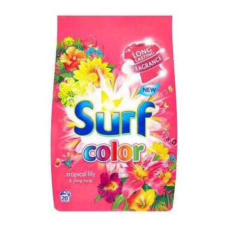 Surf Color prášek tropical 20 pracích dávek 1400 g