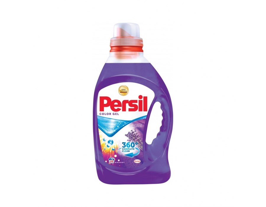 Persil Color Gel Lavender tekutý prací gel na barevné prádlo, 20 dávek 1000 ml