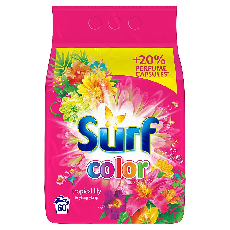 Surf Color prášek tropical 60 praní 4,2 kg
