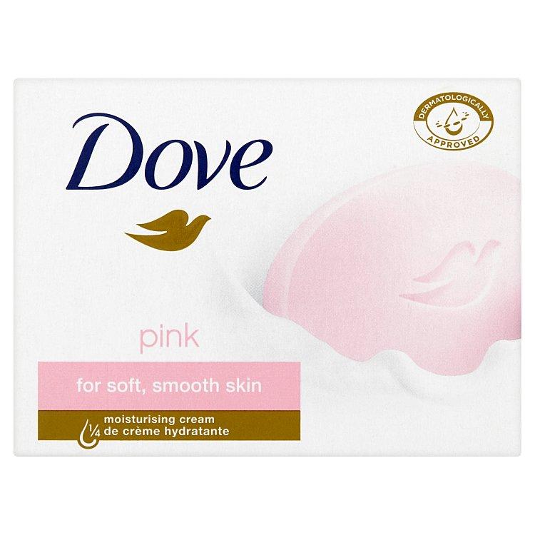 Dove Pink krémová tableta na mytí 100 g