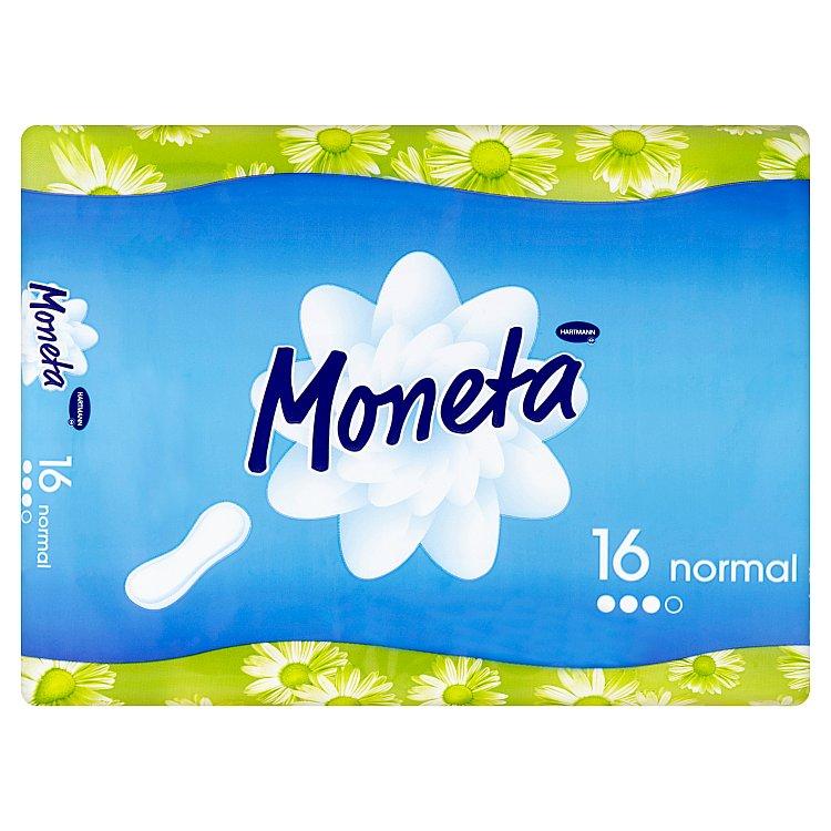 Fotografie Moneta Normal dámské vložky 16 ks