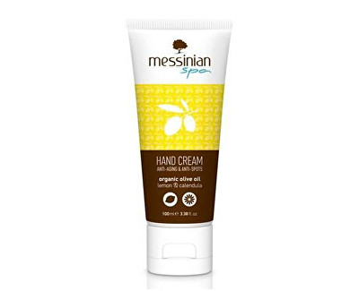 Messinian Spa krém na ruce citrón & měsíček 100 ml