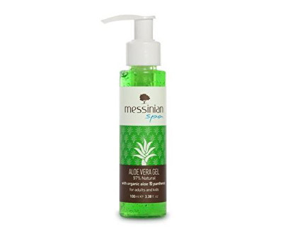 Aloe vela gel s panthenolem 100 ml