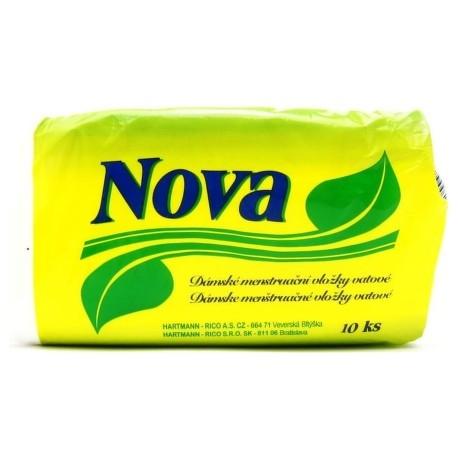Fotografie Nova dámské hygienické vložky 10 ks