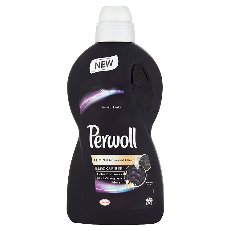 Perwoll Renew Advanced Effect Black & Fiber prací prostředek, 30 praní 1800 ml