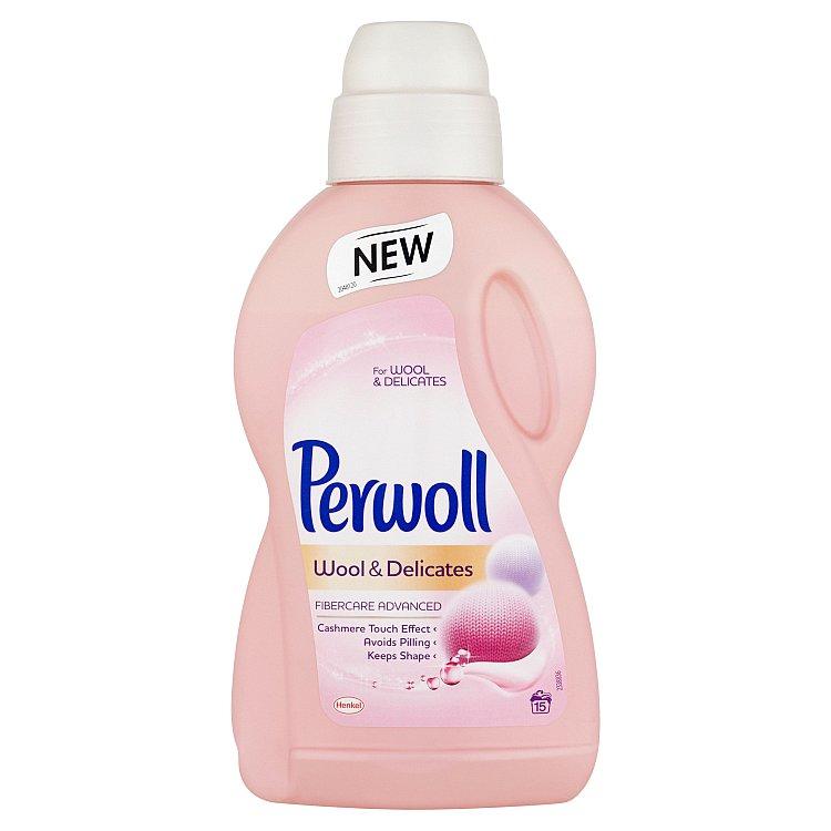 Perwoll Wool & Delicates prací prostředek, 15 praní 900 ml