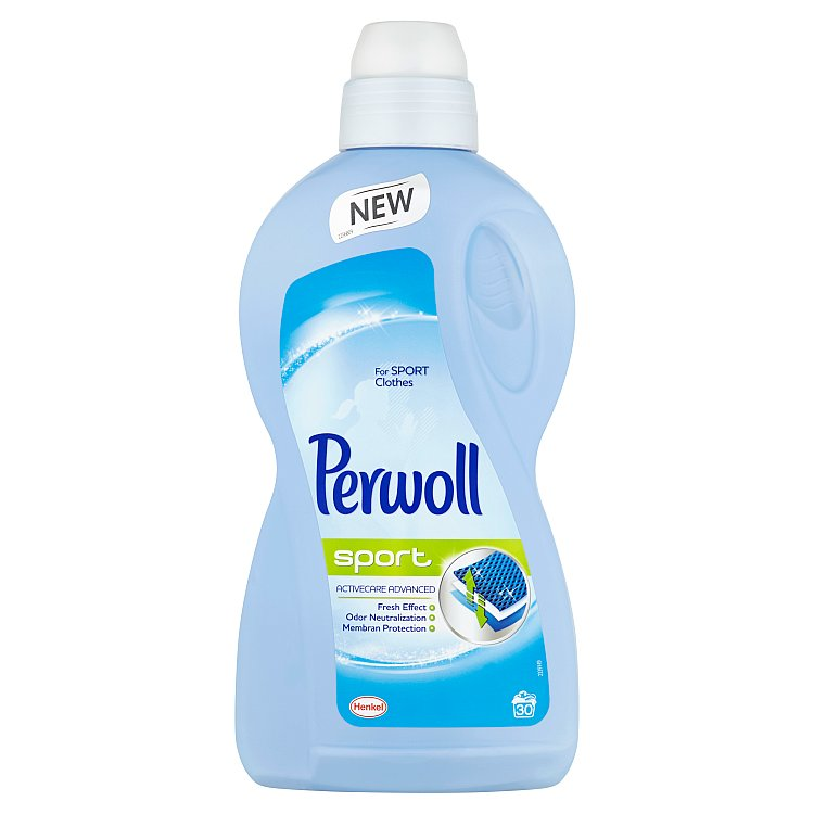 Perwoll Sport Activecare Advanced prací gel, 30 praní 1,8 l