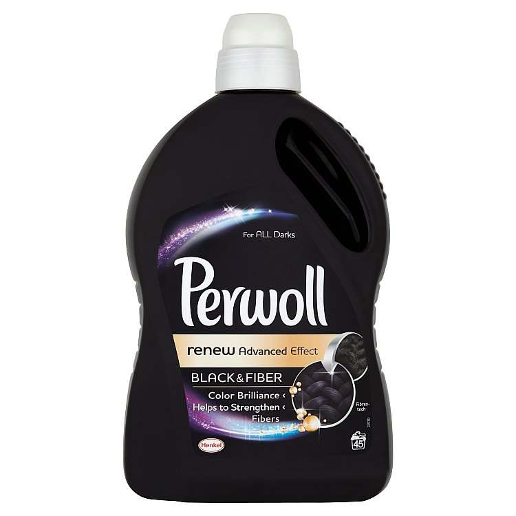 Perwoll Renew Advanced Effect Black & Fiber prací prostředek, 45 praní 2700 ml