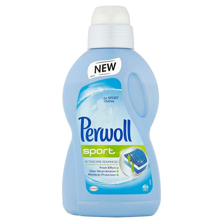 Perwoll Sport prací gel, 15 praní 900 ml