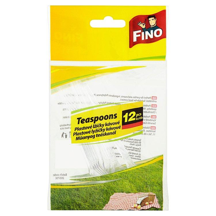 FINO Plastové lžičky 12 ks