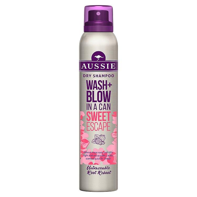 Aussie suchý šampon Wash+Blow Sweet Escape 180 ml