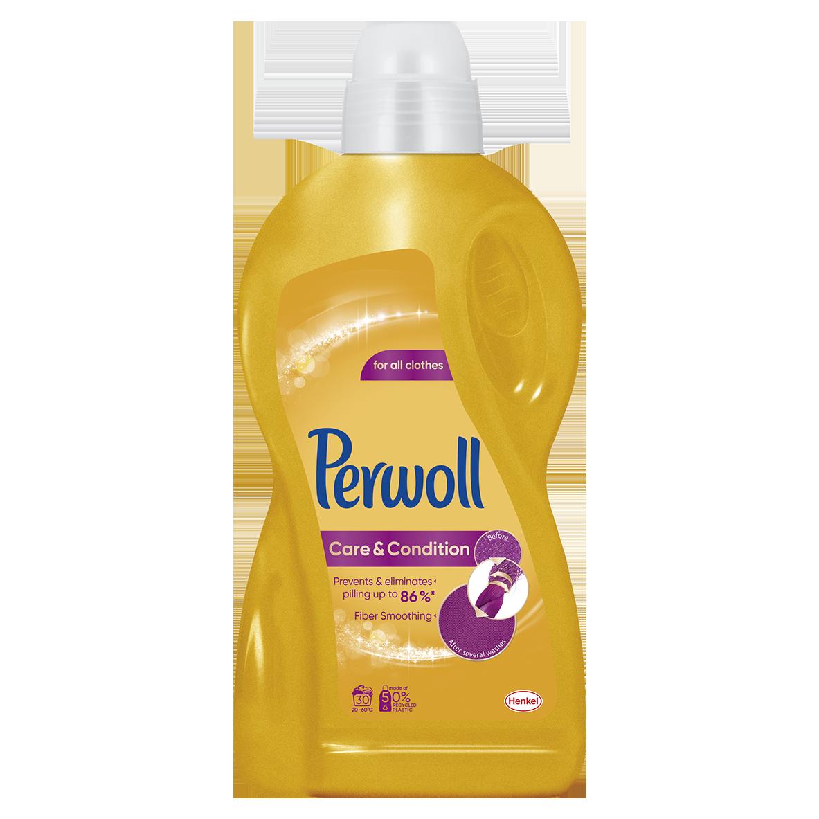 Perwoll Care & Repair prací gel, 30 praní 1,8 l
