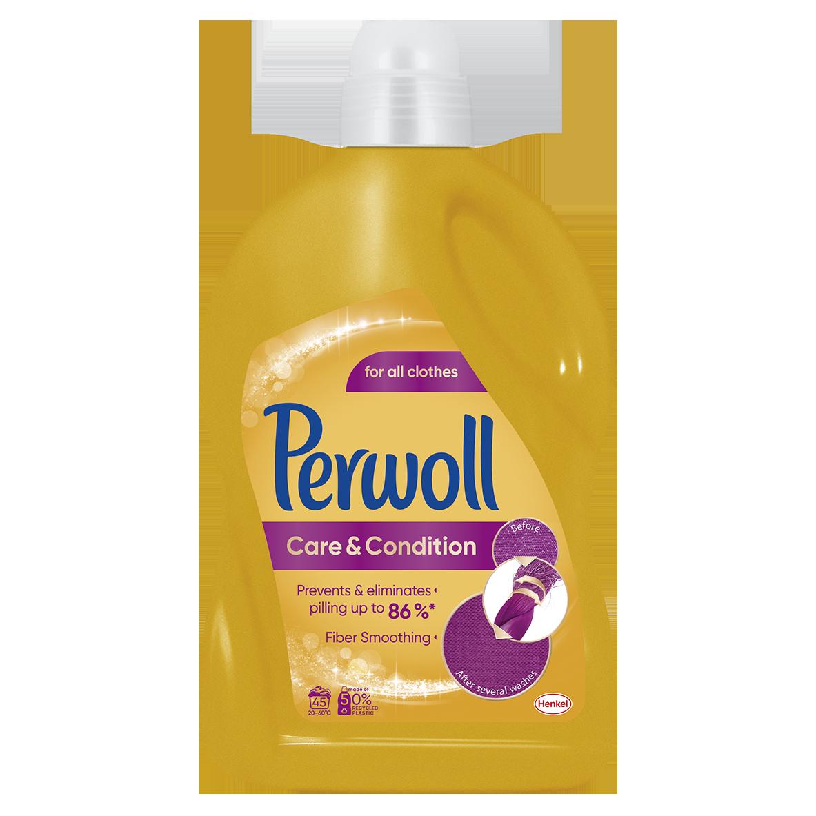 Perwoll Care & Repair prací gel, 45 praní 2,7 l