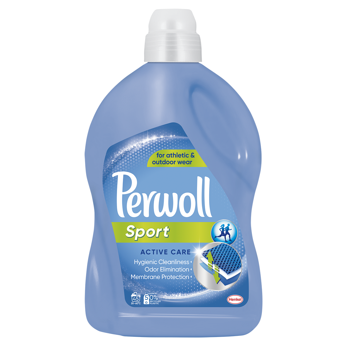 Perwoll Sport prací gel, 45 praní 2,7 l