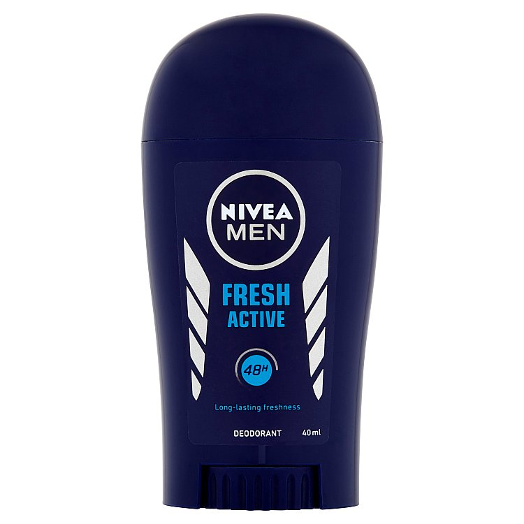 Fotografie Nivea Men Fresh Active tuhý deodorant 40 ml