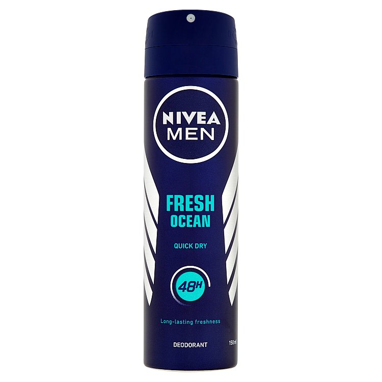 Nivea Men Fresh Ocean deodorant ve spreji 150 ml