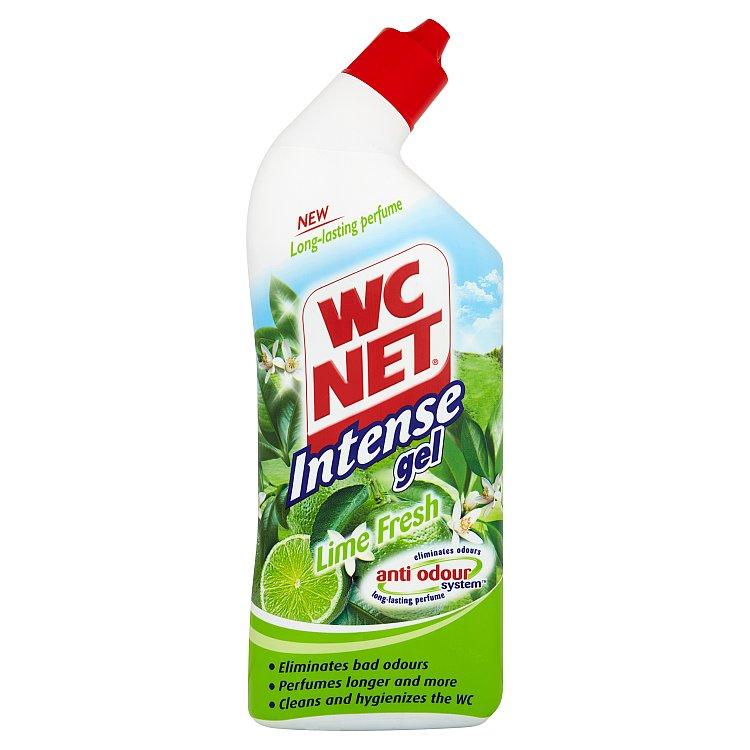 Fotografie Wc Net Intense Gel Lime Fresh Wc gelový čistič 750 ml