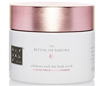 Rituals tělový peeling s obsahem cukru Sakura (Sugar Body Scrub) 375 g