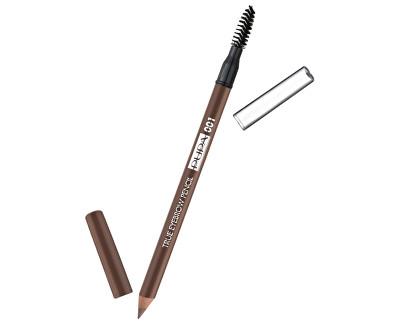 PUPA voděodolná tužka na obočí (True Eyebrow Pencil Waterproof) 004 Extra Dark 1g