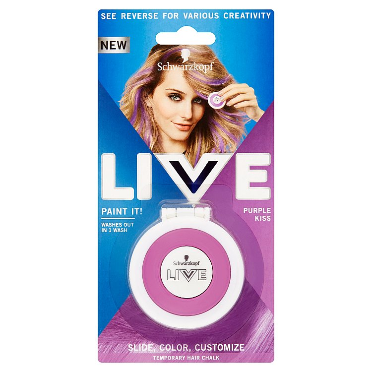 Schwarzkopf live Paint It Purple Dream křída na vlasy 50 ml